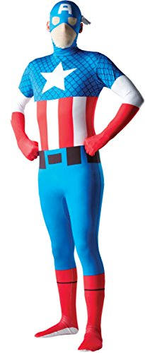 Rubie's Costume Men's Marvel Universe Captain America Adult 2Nd Skin Costume