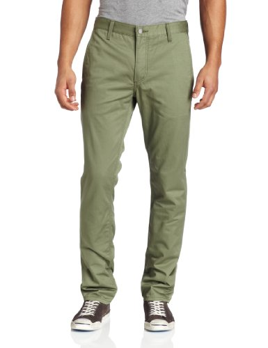 Levi's Men's 511 Slim Fit Hybrid Slant Front Pocket Trouser Pant, Deep Lichen Green, 32x32