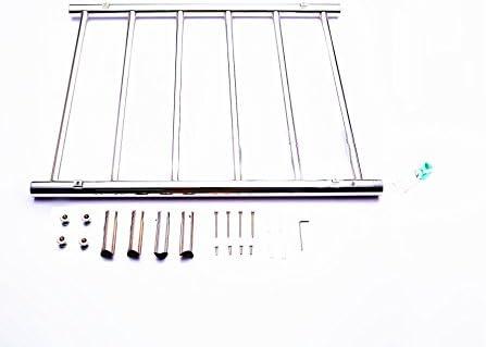 Ltopow Radiador Toallero Toallero Electrico de Acero Inoxidable 60W Toallero Calefactable de 220-240V
