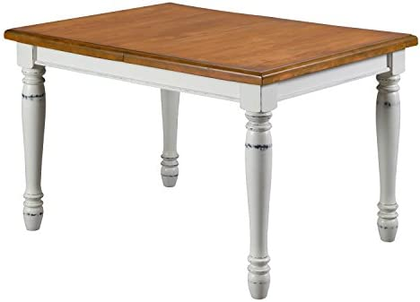 Monarch White Oak Dining Table by Home Styles
