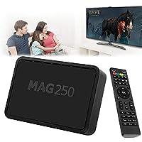 FidgetFidget Internet TV Set-top Box MAG 250 IPTV HD TV Box Multimedia 1080P Linux USB WiFi