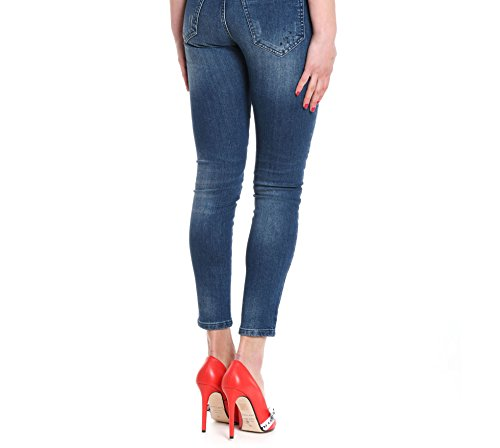 P18PMNG001340358 Femme Bleu Jeans Coton Mangano qxZ8zUwTx