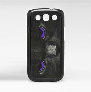 Tantalizing Kitty Eyes Purple Hard Snap on Phone Case (Galaxy s3 sIII)
