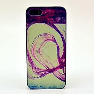 ZL Ink Overflow Pattern Hard Case for iPhone 5/5S
