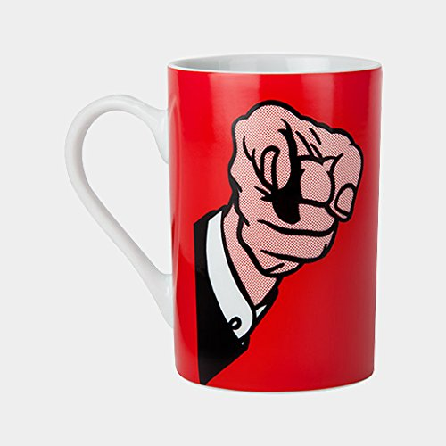 Roy Lichtenstein: Finger Pointing Mug