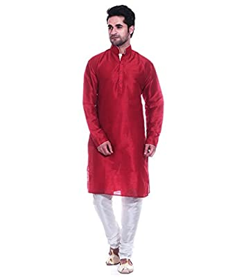 ab652154aee2 Amazon.com  Royal Traditional Wear Stylish Bollywood Men s Kurta ...