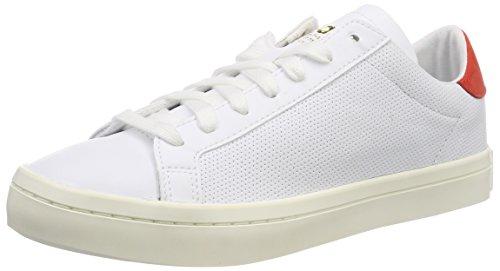 Adidas Originals Hommes Baskets Vue De La Cour Blanc (ftwbla / Ftwbla Rojsld 000)
