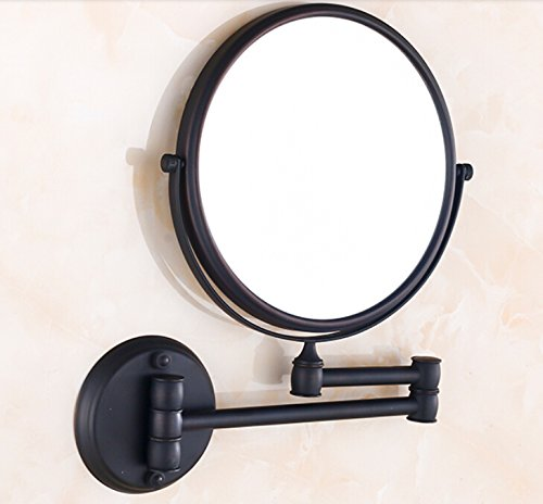 rozinr-wall-mounted-8-inch-round-make-up-mirror-oil-rubbed-bronze-dual-sided