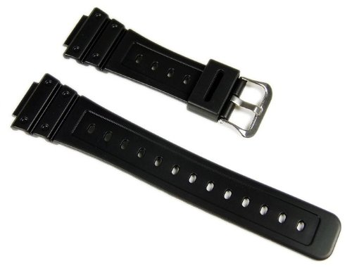 Genuine Casio Replacement Watch Strap 71604348 for Casio Watch GW-M5610-1BV, DW-5600E-1VW + Other models (Replacement 5610)