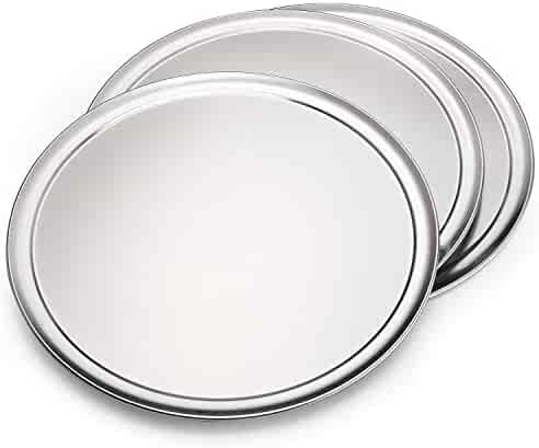 Member's Mark 16 Inch Aluminum Pizza Pans 3 Pack Set