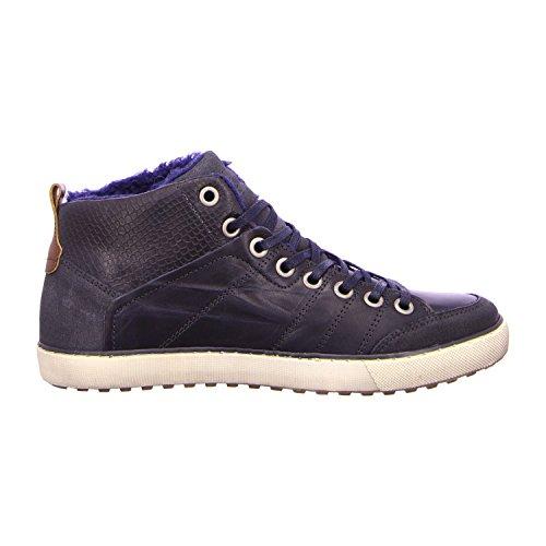 BULLBOXER 029K54229KCRNA - Botas de Piel para hombre Azul - azul