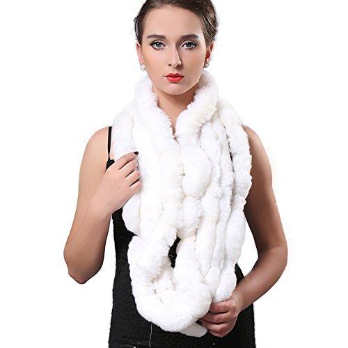 White Rabbit Fur Coat - 4