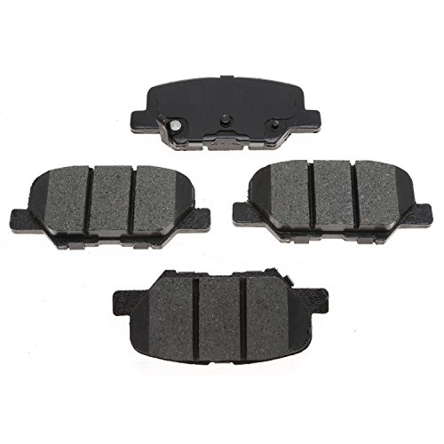ACDelco 14D1679CH Advantage Ceramic Front Disc Brake Pad (Mitsubishi Metal Front Brake Pad)