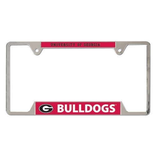 NCAA University of Georgia Metal License Plate Frame TeamName: University of Georgia, Model: 21517011, Car & Vehicle Accessories / - Shops Of Mall Georgia