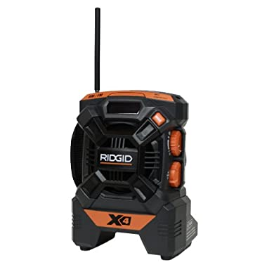 Ridgid ZRR84084 X4 18V Cordless Mini Jobsite AM/FM Radio (Bare Tool)