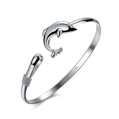 Nattypat Style Dolphin Chain Dolphin Bracelet Classic Bangle Singlet Dolphin - Singlet Styles