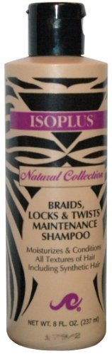 Isoplus Natural Collection Braid/Lock Shampoo 8 oz.