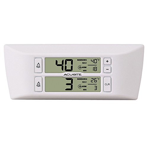 AcuRite 00986A2 Refrigerator/Freezer Wireless Digital Thermometer by AcuRite (Image #1)