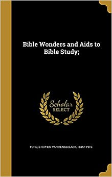 Book Bible Wonders and Aids to Bible Study:
