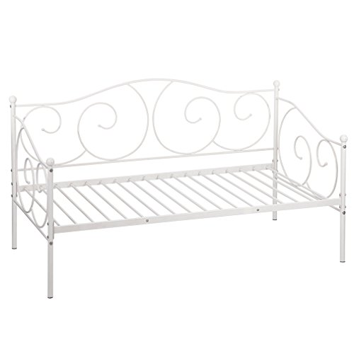 Daybed Metal Daybed Frame with Children Bedframe for Living Room Guest Room
