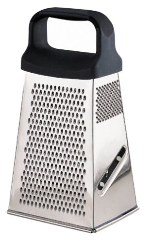 Pedrini Black & Satin Stainless Steel Pyramid Grater