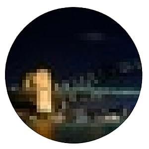 alfombrilla de ratón Panorama de la noche de Sydney - ronda - 20cm