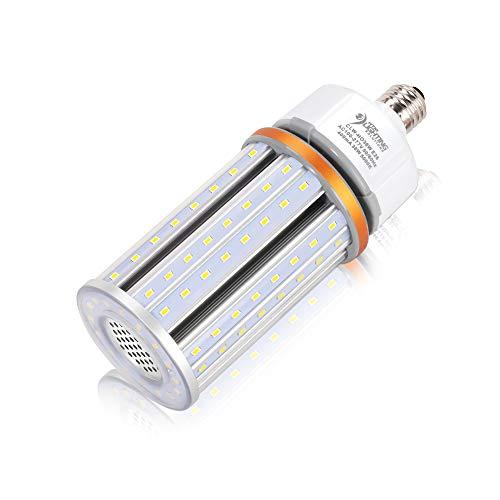 - 36W High Output LED Corn Light for 150-250W MH/HID/HPS Replacement, 4380 Lumens, UL Listed, 100-277VAC, LED Street Lighting, High Bay Lighting, E26 Medium Base (5000K Cool White)