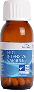 Pharmax - HLC Intensive Capsules - Probiotics to Promote Optimal Intestinal Health in Children and Adults* - 30 Capsules