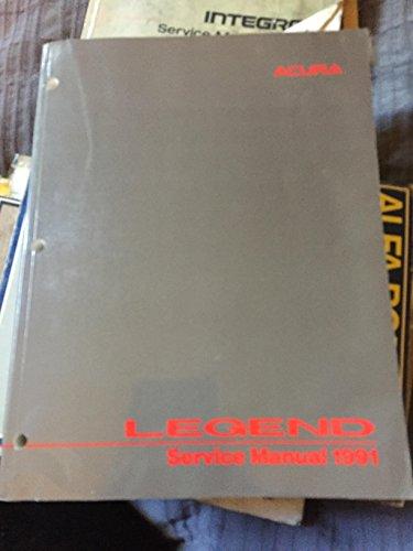 1991 Acura Legend Service Manual