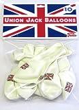 10 UNION JACK JUBILEE BALLOONS
