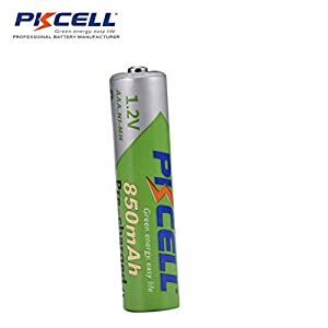 Pkcell AAA Low Self Discharge Rechargeable Battery, 850mA NiMh (4-Pack)