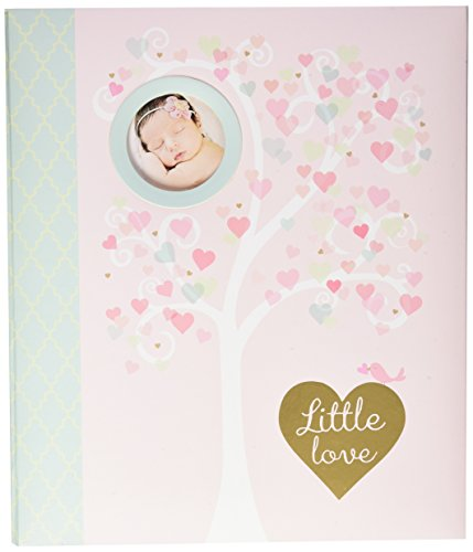 C.R. Gibson First 5 Years Loose Leaf Memory Book, Record Memories and Milestones on 64 Beautifully Illustrated Pages - Little Love