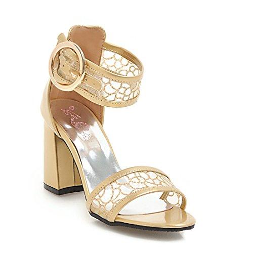 i sandali sandali moda sandali golden le sono sandali 44 ruvido cave il donne heeled high xqSR4R