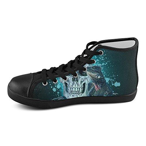 Artsadd Artsdd Coutume À Sang Froid Haute Chaussures De Toile Pour Les Femmes (model002)