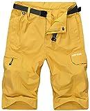 VtuAOL Men's Outdoor Lightweight Hiking Shorts Quick Dry...