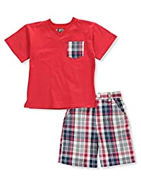 Quad Seven Boys' 2-Piece Shorts Set Outfit