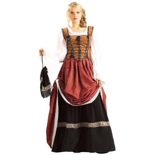 Brigadoon Costumes (Rubie's Costume Grand Heritage Collection Deluxe Brigadoon Costume, Brown, Medium)