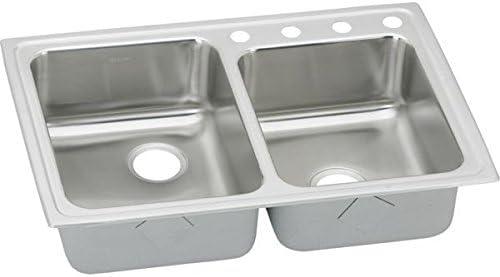 Elkay LRAD250654 Sink, 33 x 22 x6.5 , Lustertone