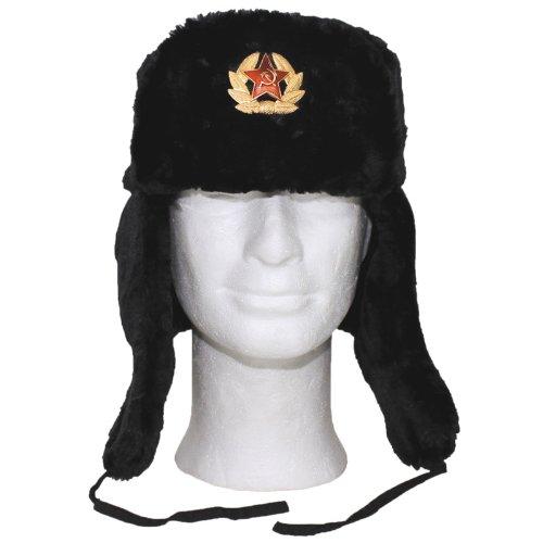 mfh inverno russo  MFH Inverno russo Cappellino nero con Badge: : Sport e ...