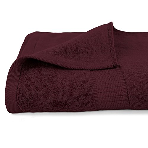 Life & Form Bamboo Bath Towel Antique Red | Super Soft and Highly Absorbent by Life & Form