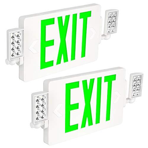 Green Led Exit Lights