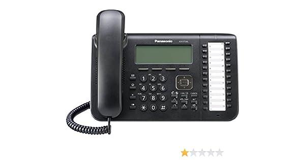 Panasonic KX-DT546-W 24-Button 6-Line Backlit Display Speaker Phone in White