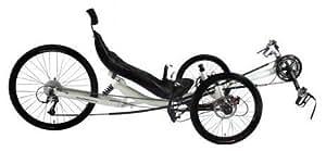Performer Trike-X 27 Speed Recumbent Trike (Red)