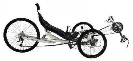 Discover Bargain Performer Trike-X 27 Speed Recumbent Trike