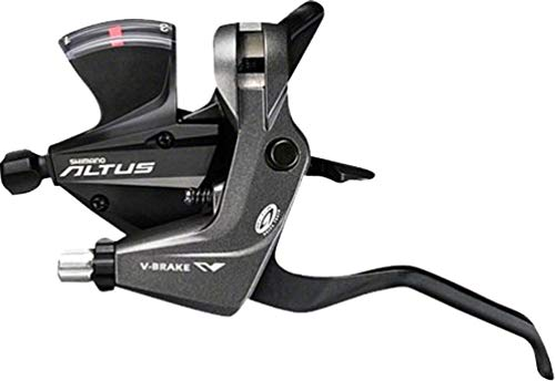 Shimano Altus St-M370 3×9-Speed Brake/Shift Lever Set Black