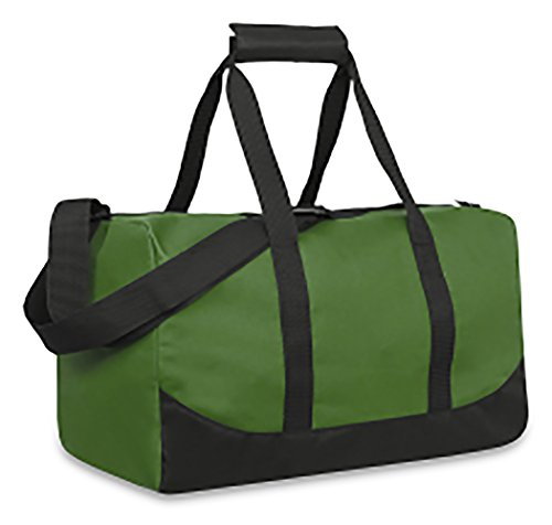 Sports Duffle Bag Small (Forest Green) (Forest Green Duffel)