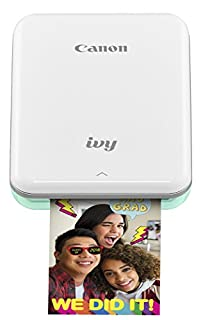 Canon IVY Mobile Mini Photo Printer through Bluetooth(R), Mint Green (B07C68MS2H) | Amazon price tracker / tracking, Amazon price history charts, Amazon price watches, Amazon price drop alerts