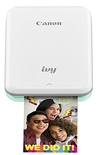 Canon IVY Mobile Mini Photo Printer through Bluetooth(R), Mint Green (Foto Printer)