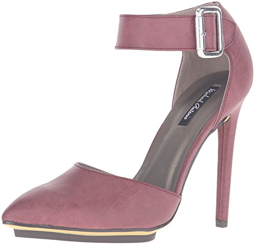 Michael Antonio Womens Lillius Dress Pump Burgundy