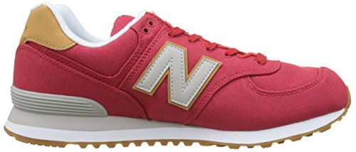 New Balance Herren ML574Y Yatch Pack Sneaker, Rot (ML574YLA)
